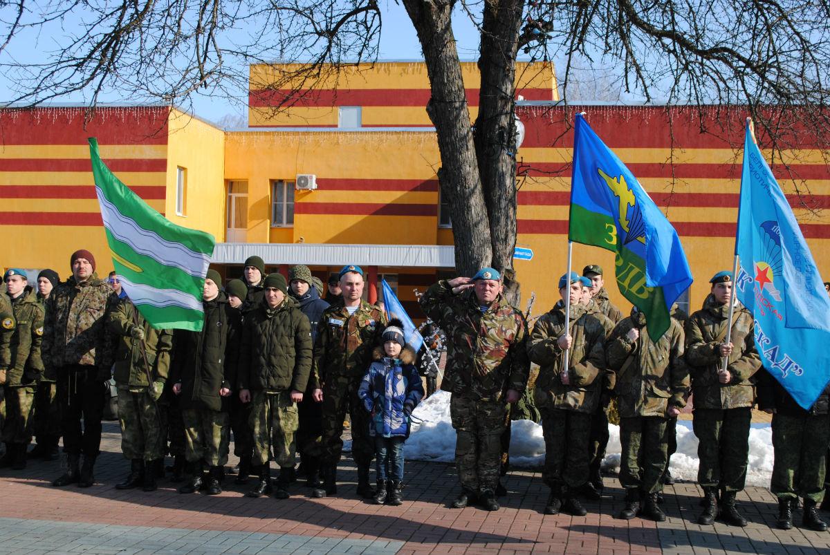 Марш-броском почтили память российских десантников будущие защитники Отечества, фото-4