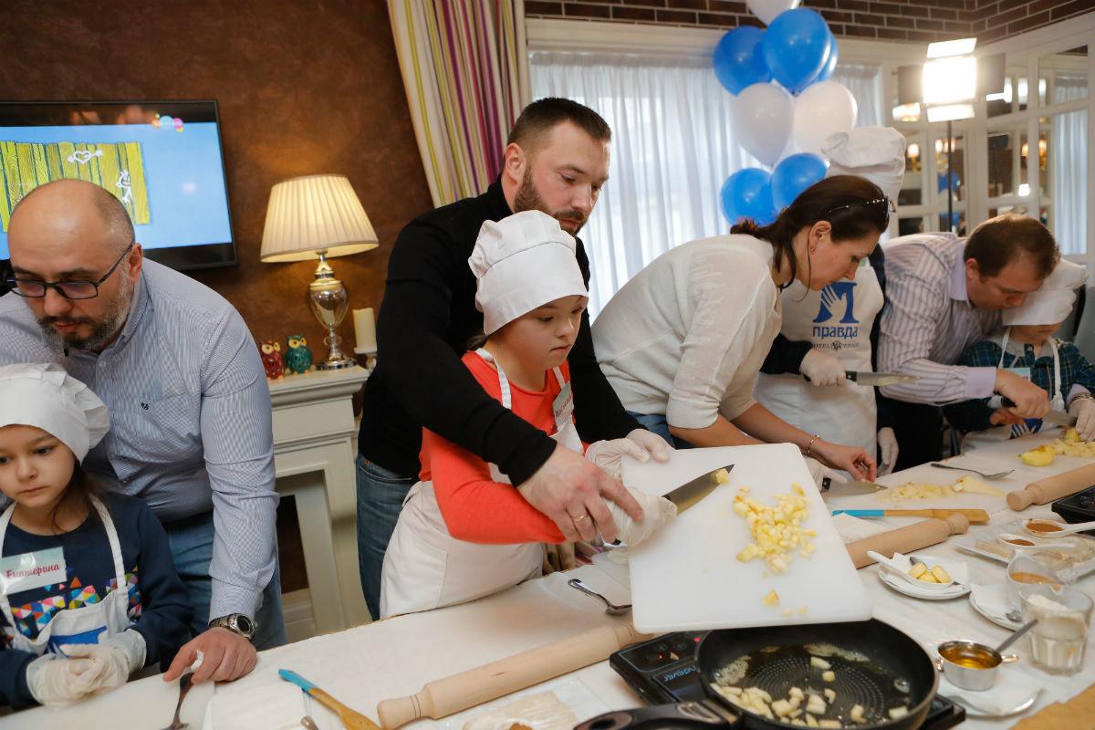 Совет отцов Белгородской области провёл первый кулинарный инклюзивный мастер-класс , фото-4