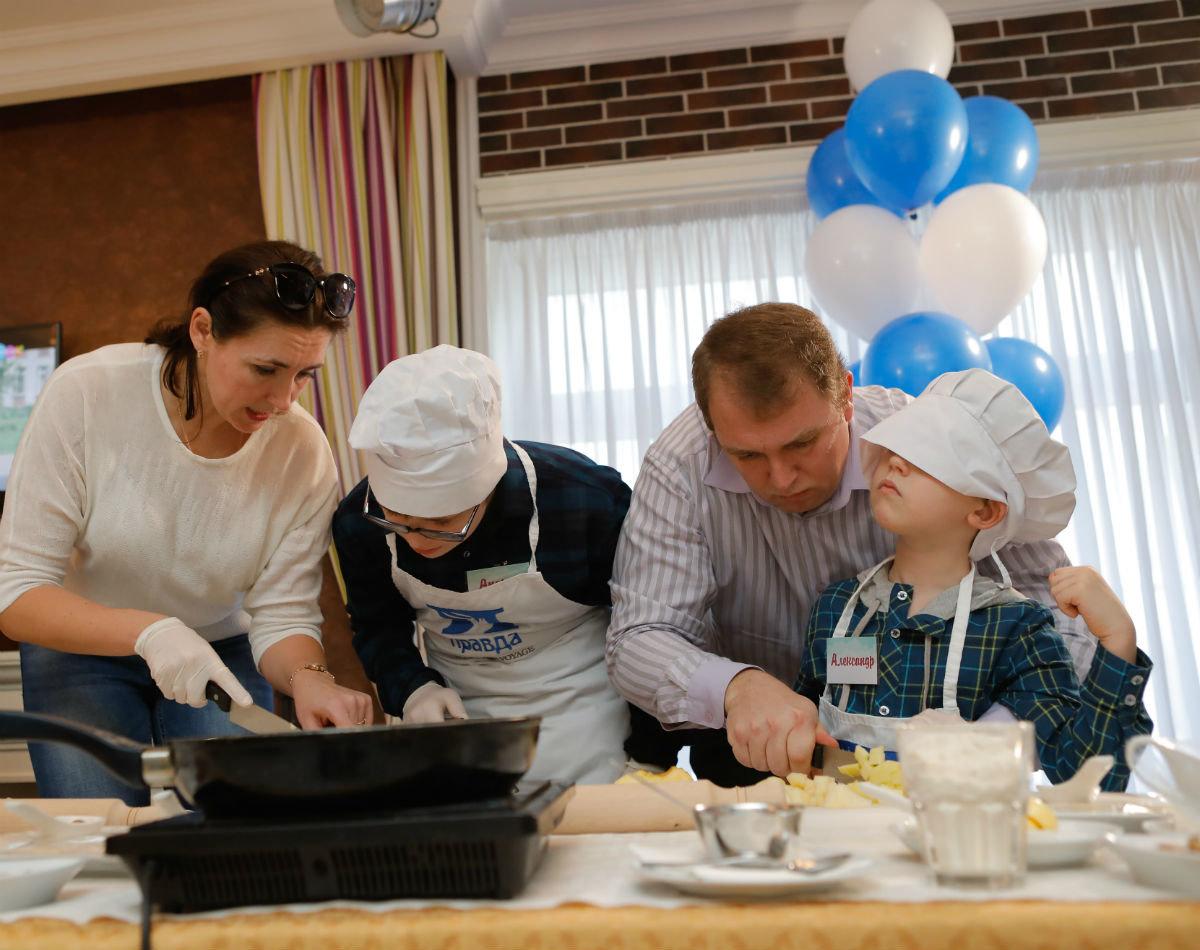 Совет отцов Белгородской области провёл первый кулинарный инклюзивный мастер-класс , фото-5