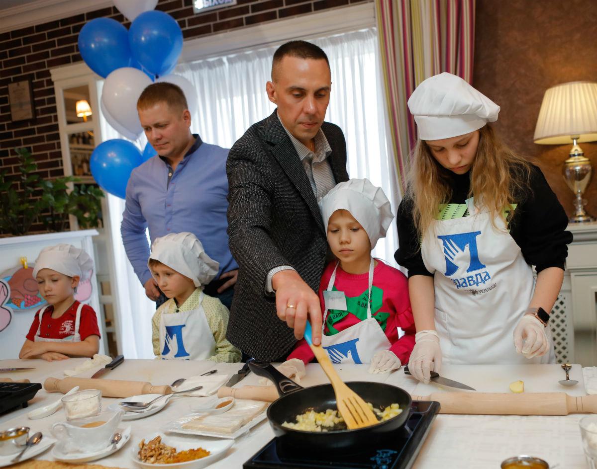 Совет отцов Белгородской области провёл первый кулинарный инклюзивный мастер-класс , фото-6