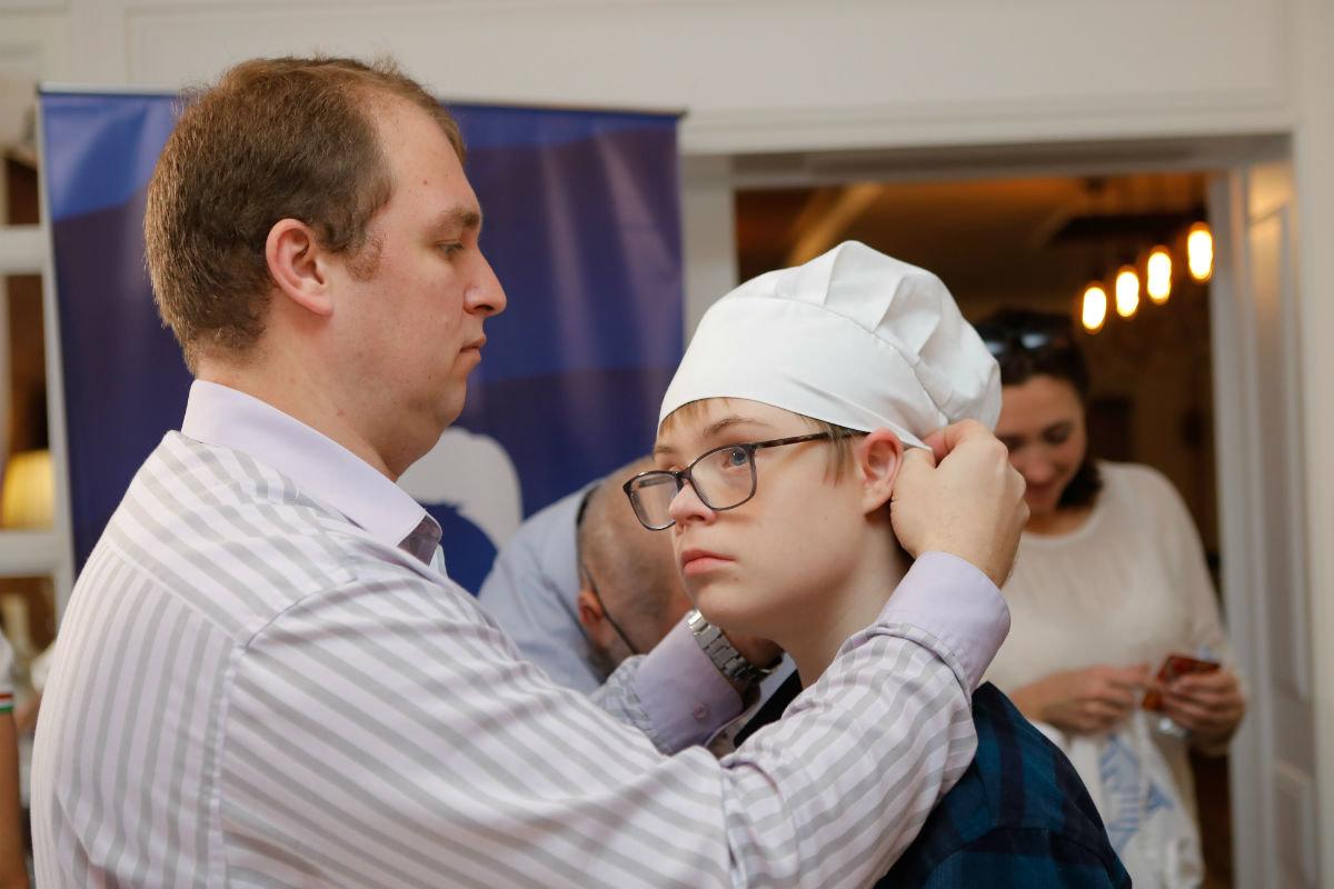 Совет отцов Белгородской области провёл первый кулинарный инклюзивный мастер-класс , фото-16