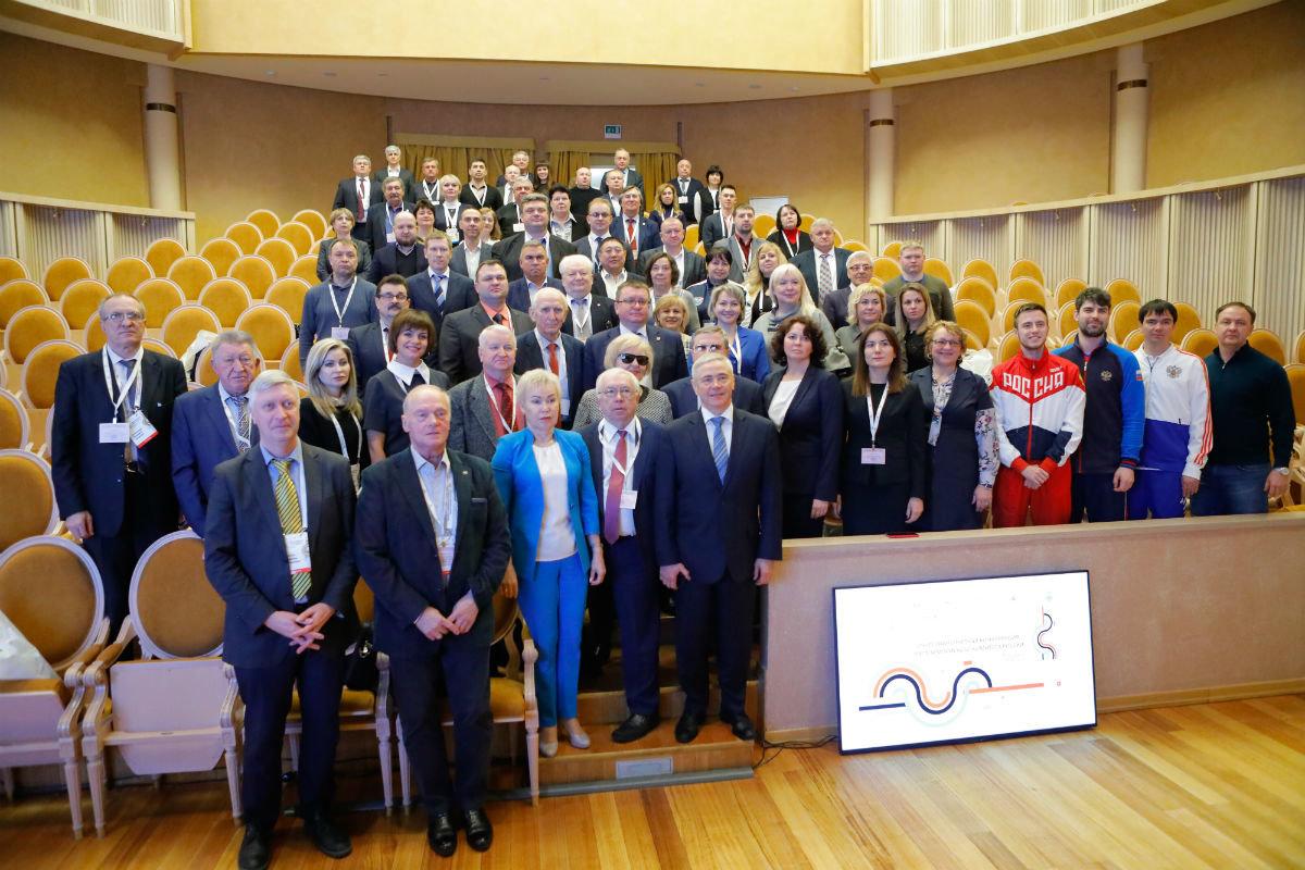 Сергей Фуглаев поучаствовал во всероссийском форуме по развитию паралимпийского движения в России, фото-11