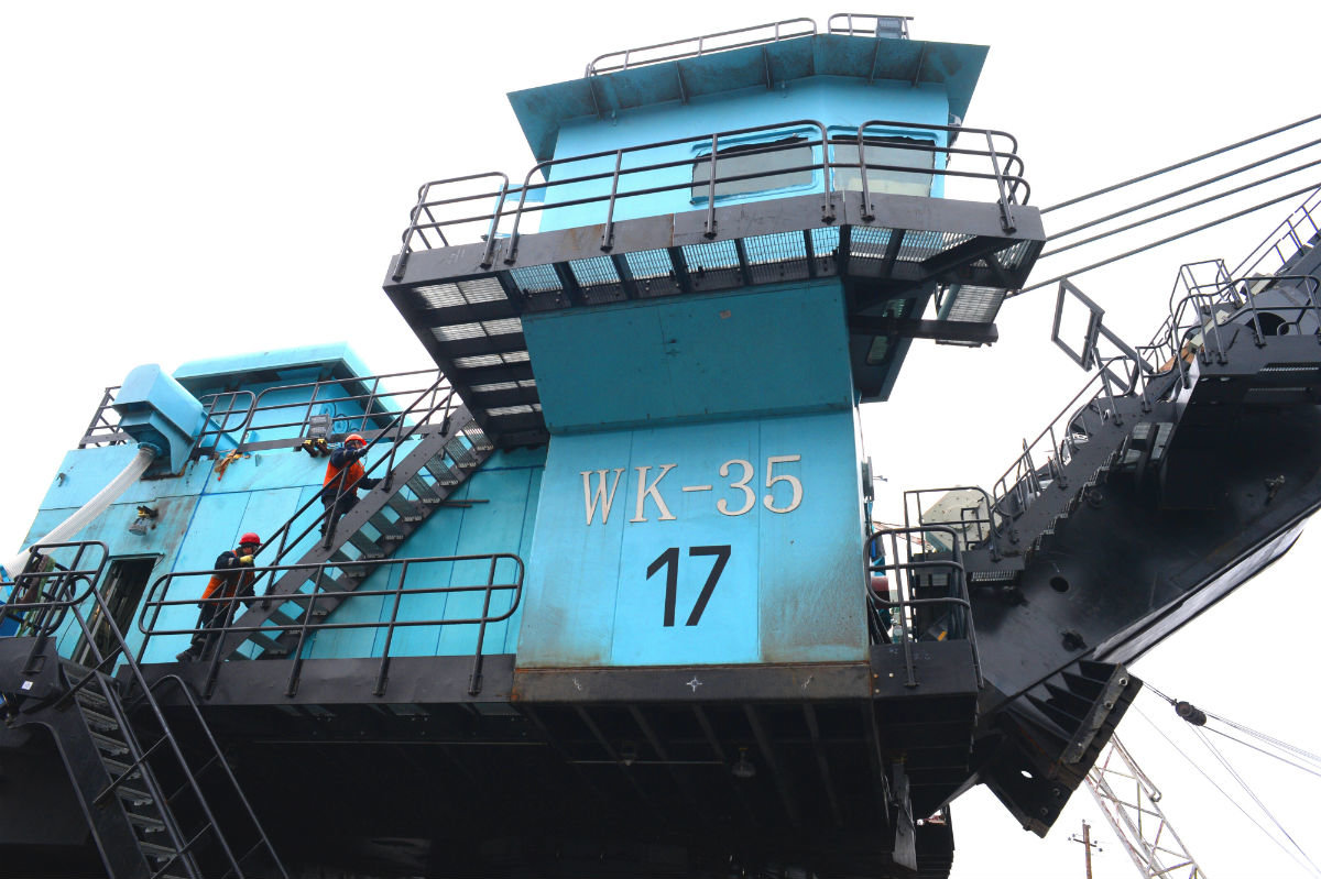 В карьере Лебединского ГОКа будет работать самый большой экскаватор комбината, фото-4