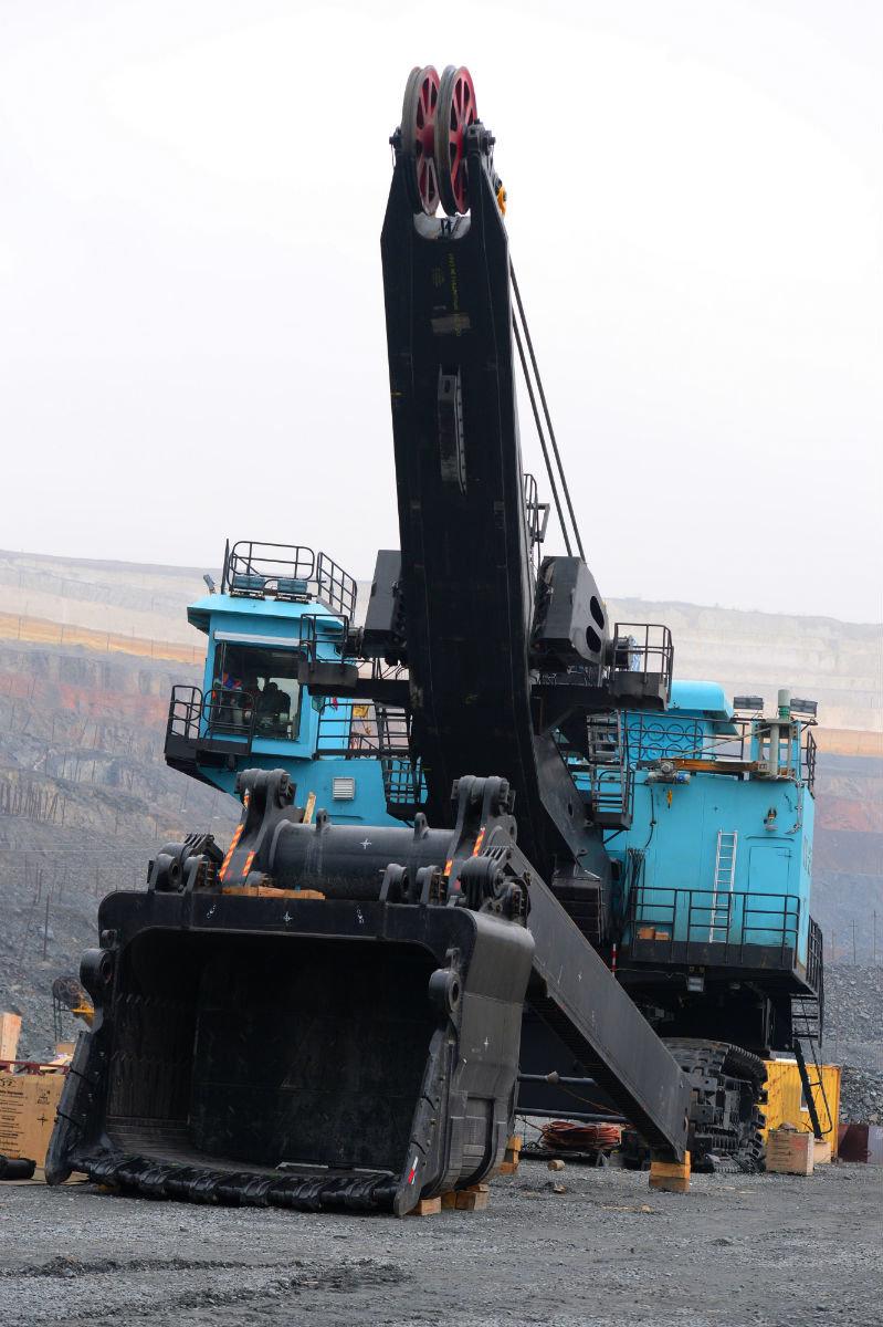 В карьере Лебединского ГОКа будет работать самый большой экскаватор комбината, фото-3