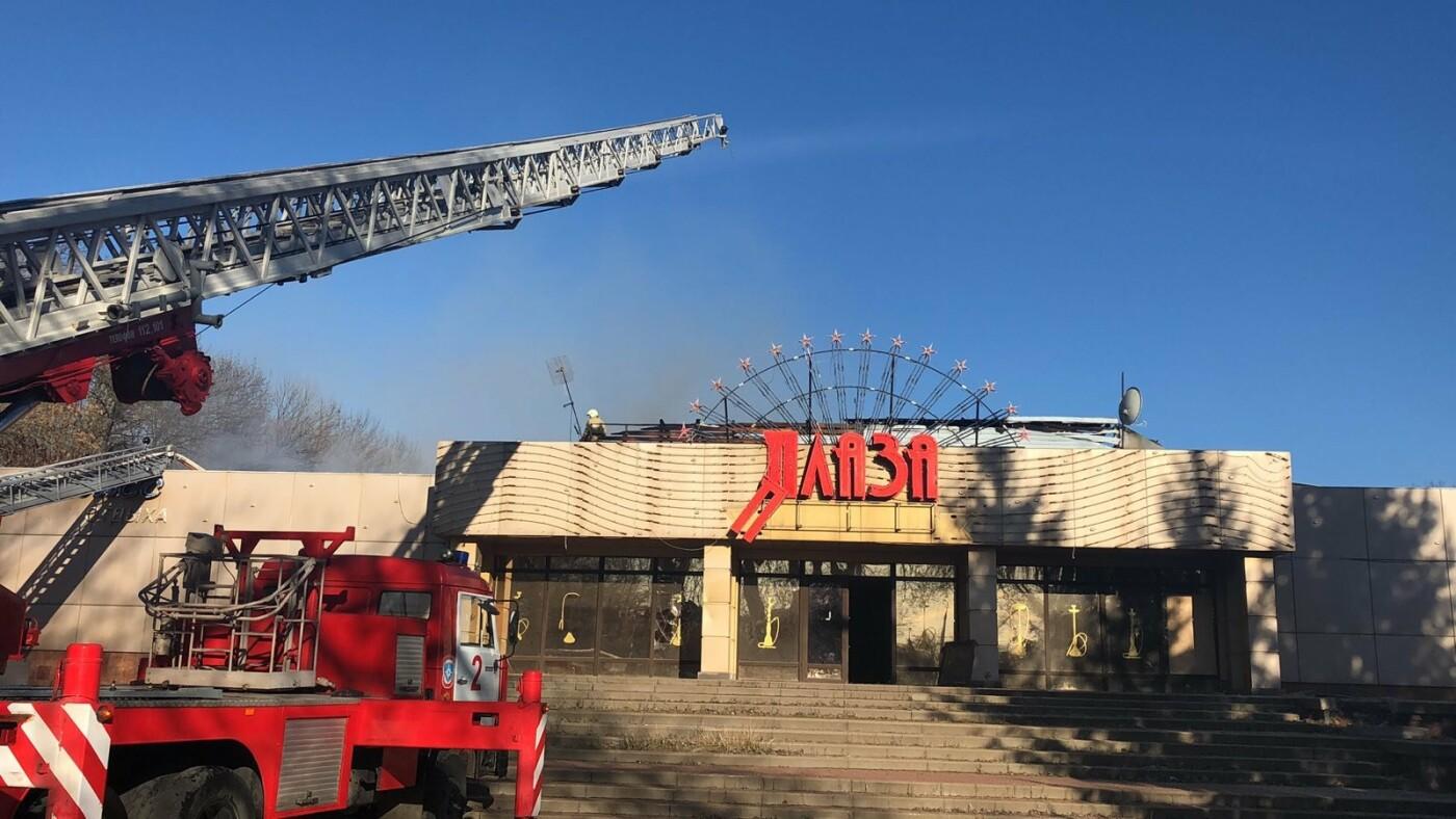 В Белгороде потушили здание ресторана «Плаза», фото-2