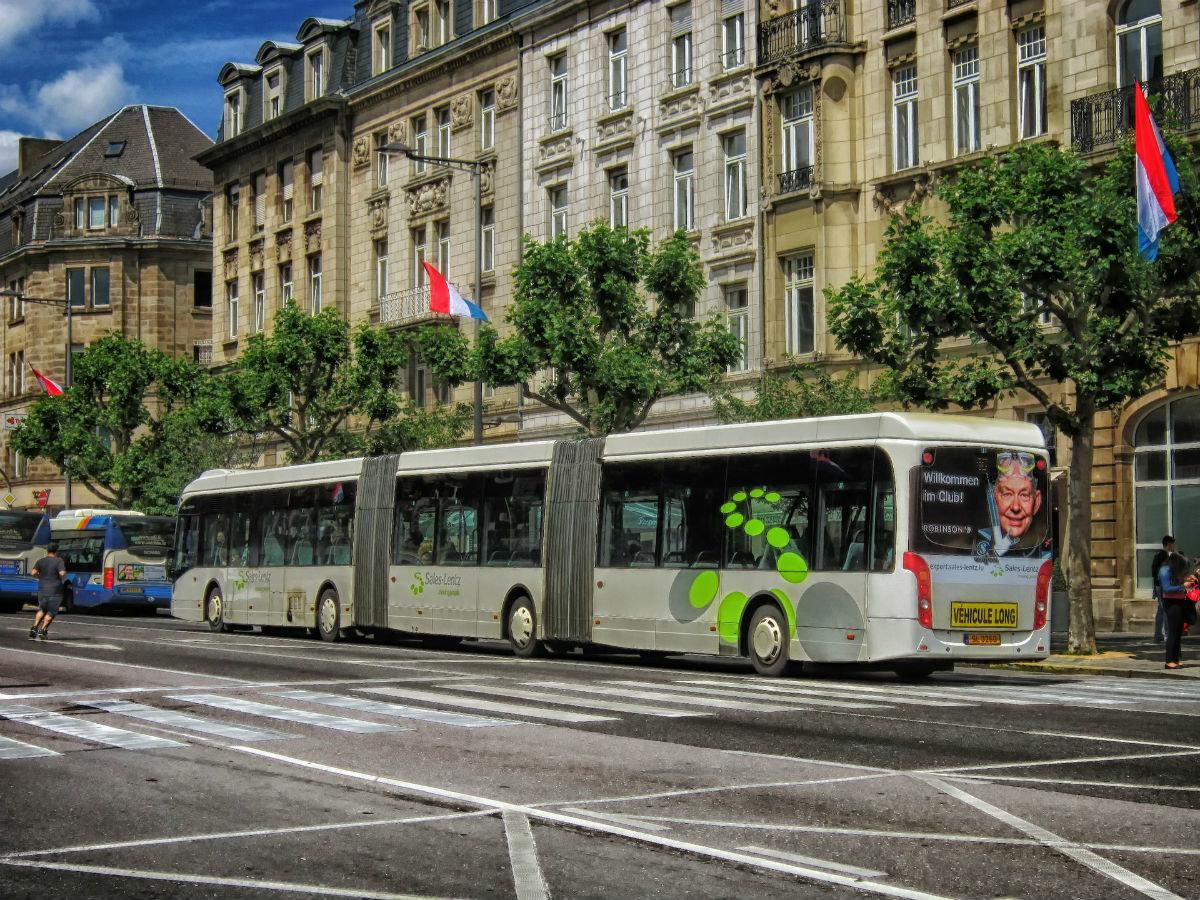городской автобус Люксембурга
