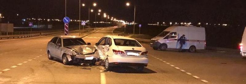 Под Белгородом пьяный водитель иномарки устроил ДТП, фото-1