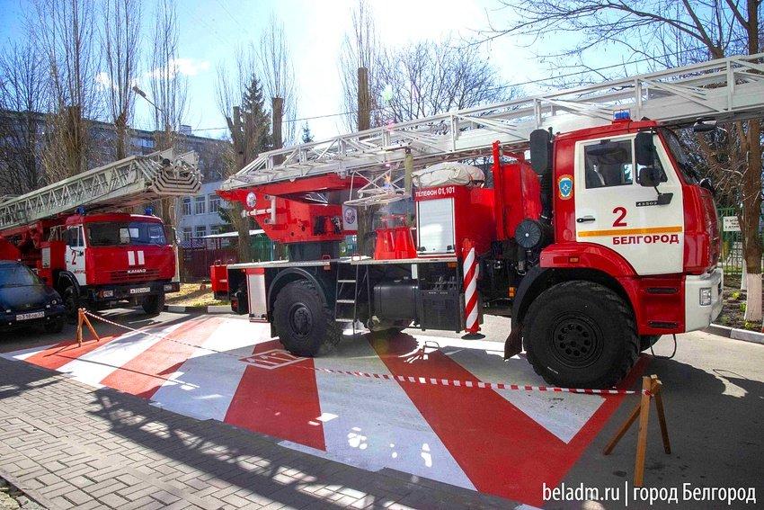 В Белгороде во дворах многоэтажек обустроят 42 стоянки для пожарных , фото-2