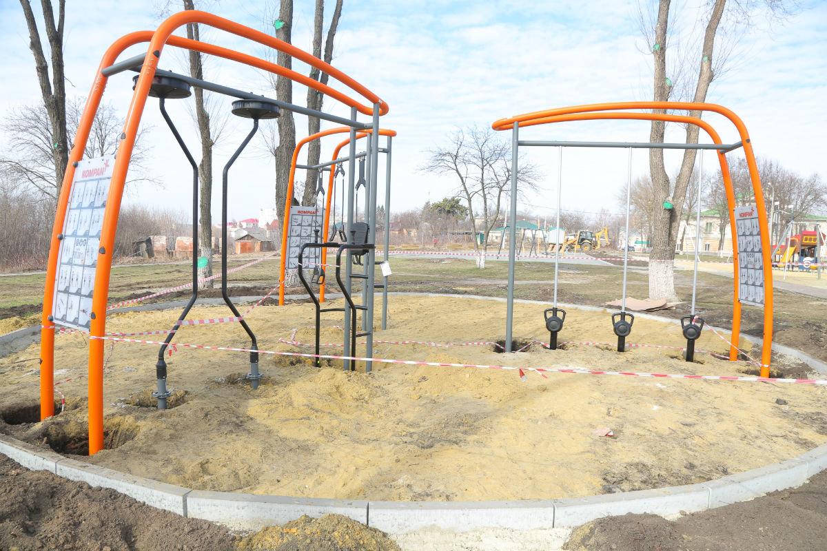 Городской парк Губкина благоустроят при поддержке «Металлоинвеста», фото-1