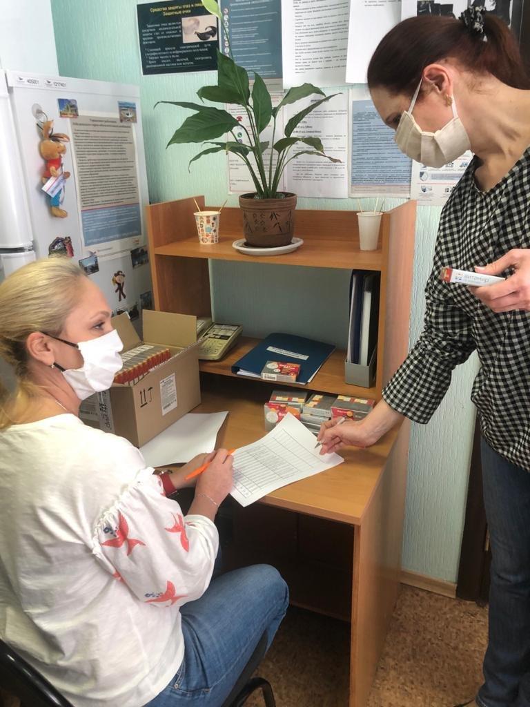 Работникам Лебединского ГОКа начали выдавать витамины, фото-4