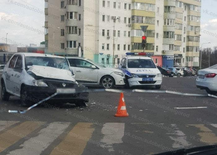 В Шебекине пьяный водитель «Лады» влетел в опору ЛЭП, фото-2