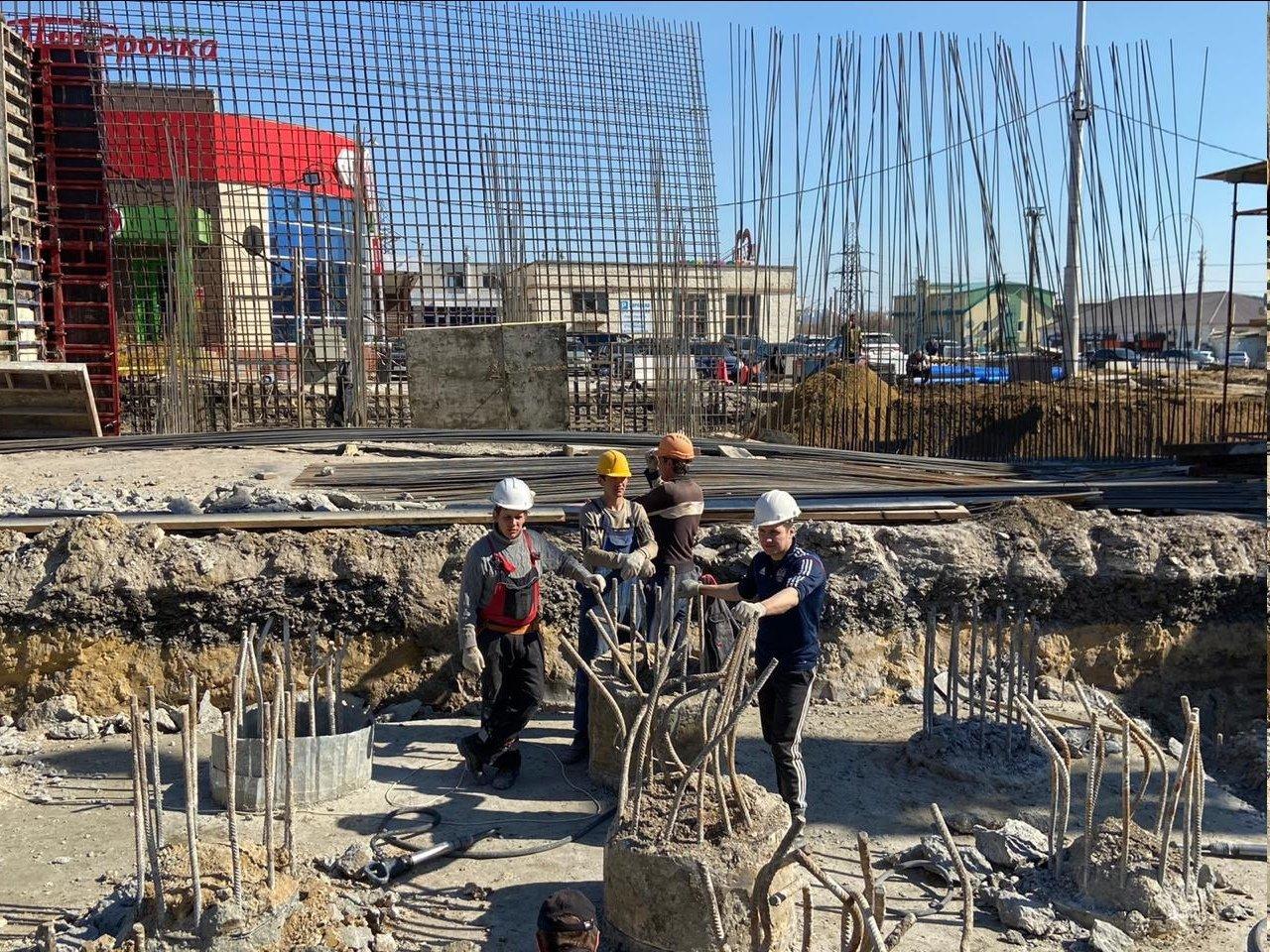 Строительство двухуровневой развязки Сумская – Чичерина в Белгороде укладывается в график, фото-3, Фото со странички Юрий Галдуна во «ВКонтакте»