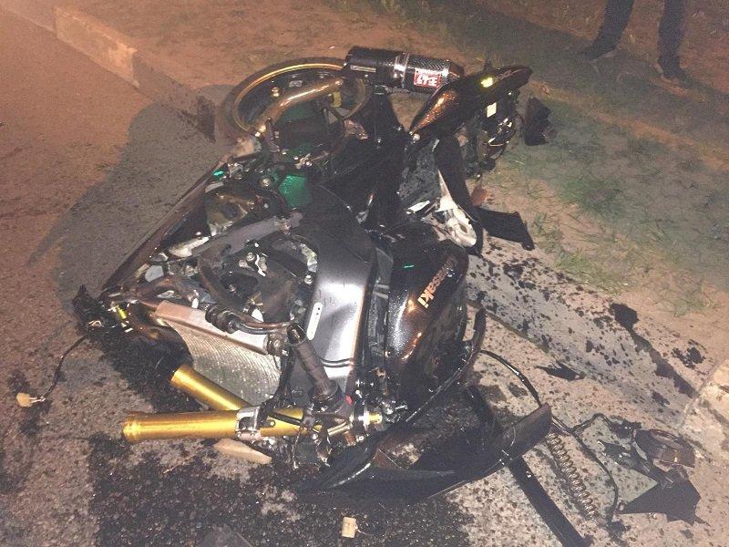 В Белгороде иномарка сбила мотоциклиста
