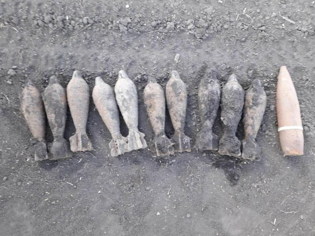 В белгородской земле за два дня нашли три десятка боеприпасов, фото-1