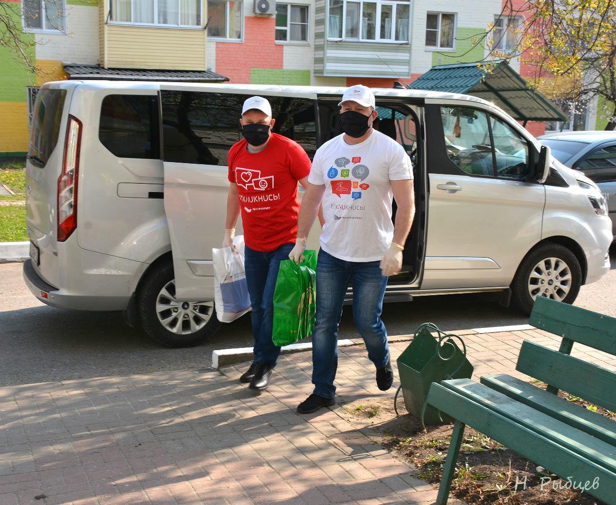 Волонтёры Лебединского ГОКа помогают пожилым губкинцам, фото-2