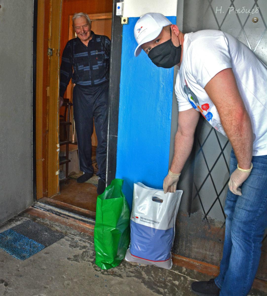 Волонтёры Лебединского ГОКа помогают пожилым губкинцам, фото-4