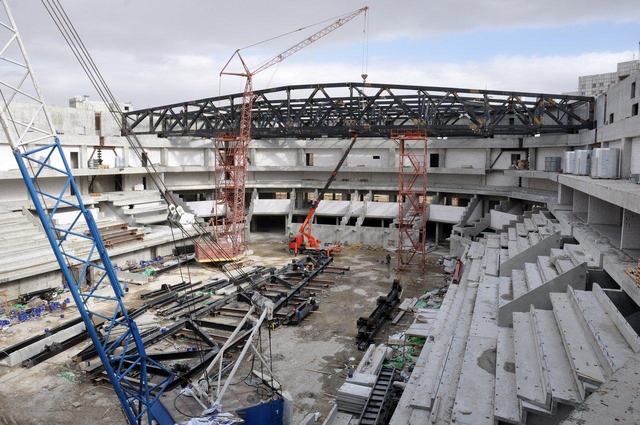 Евгений Глаголев: Волейбольную арену мы построим в срок, фото-1