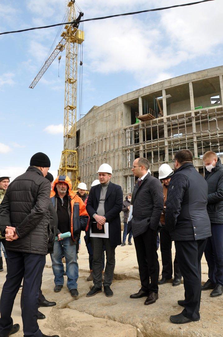 Евгений Глаголев: Волейбольную арену мы построим в срок, фото-2