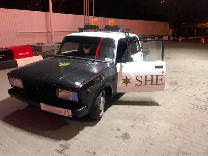 В Белгороде ГИБДД аннулировала регистрацию автомобиля «шерифа», фото-1