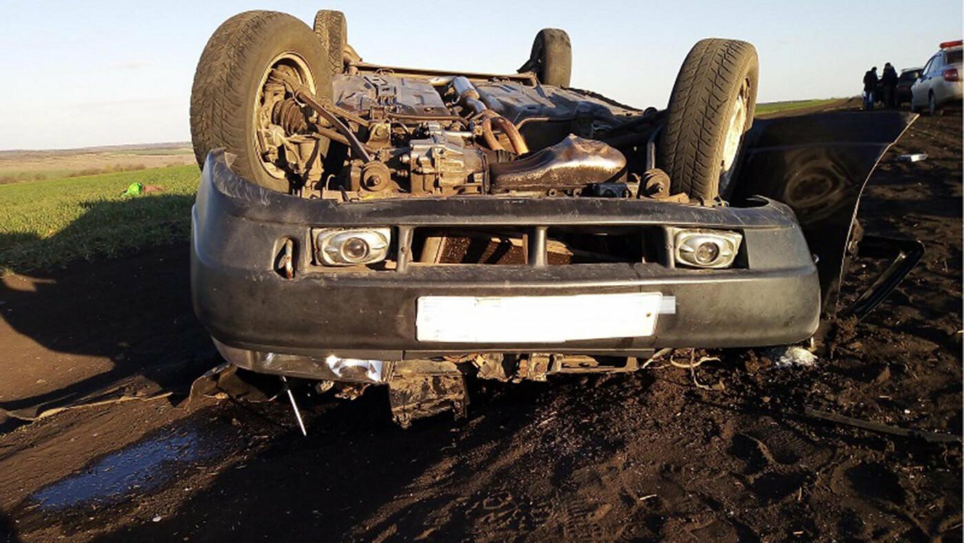В Белгородской области в аварии погибла девушка, фото-1, Фото: пресс-служба управления МВД по Белгородской области