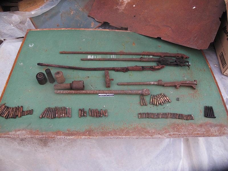 Белгородец дома хранил арсенал боеприпасов времён войны, фото-2