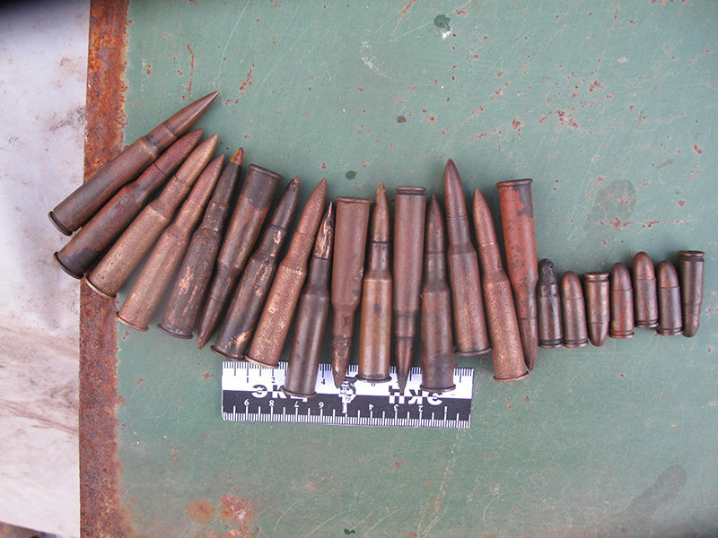 Белгородец дома хранил арсенал боеприпасов времён войны, фото-3