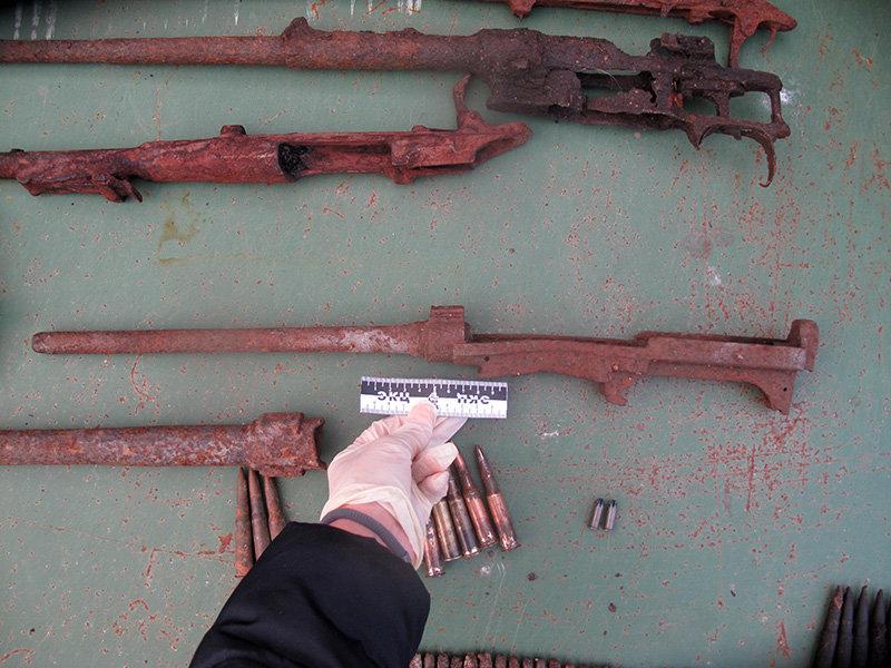 Белгородец дома хранил арсенал боеприпасов времён войны, фото-12