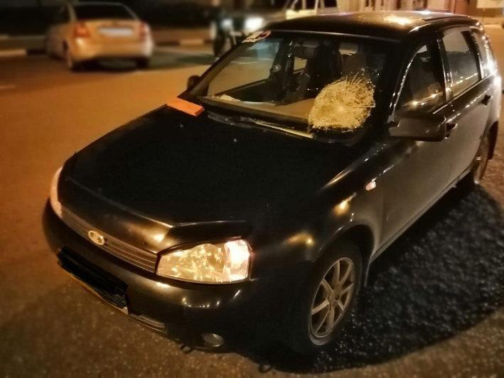 На белгородской трассе под колёсами иномарки погиб мужчина, фото-1