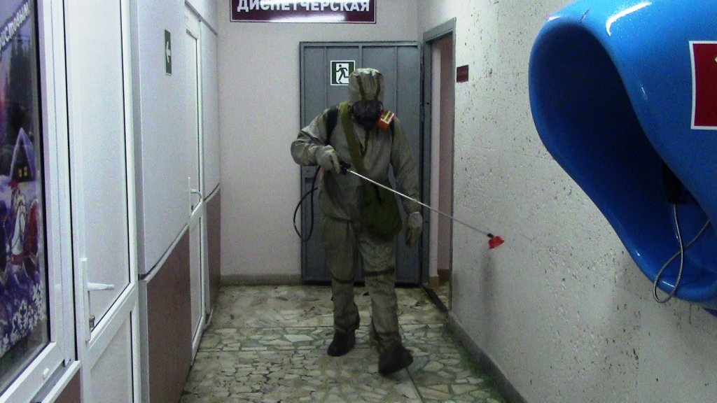 В Белгороде продезинфицировали автовокзал, фото-2