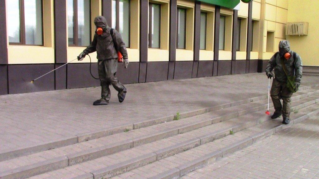 В Белгороде продезинфицировали автовокзал, фото-6