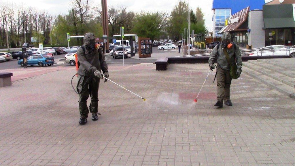 В Белгороде продезинфицировали автовокзал, фото-7
