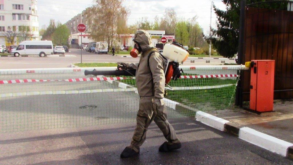 В Белгороде продезинфицировали автовокзал, фото-9