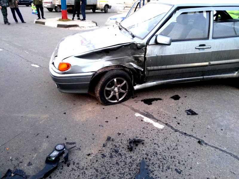 В Старом Осколе автомобилистка отправила в больницу трёх человек, фото-3