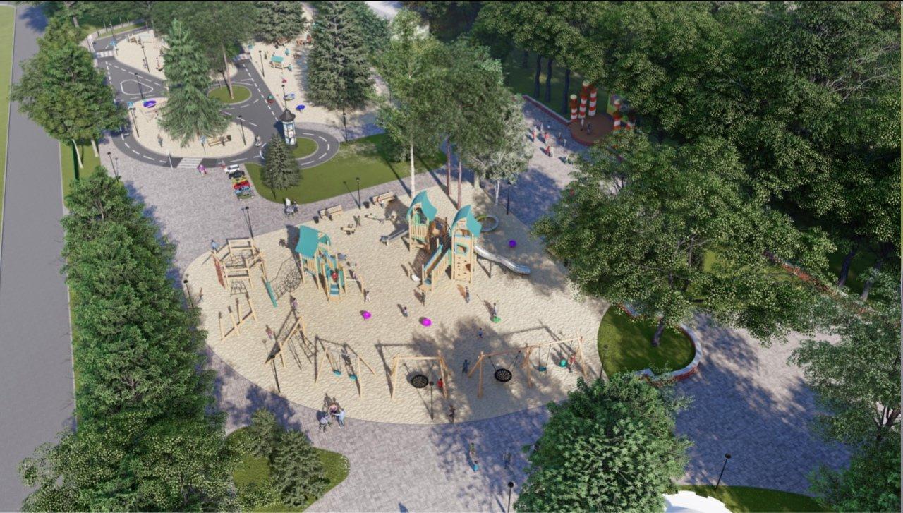 В Центральном парке Белгорода появится новая детская площадка, фото-2