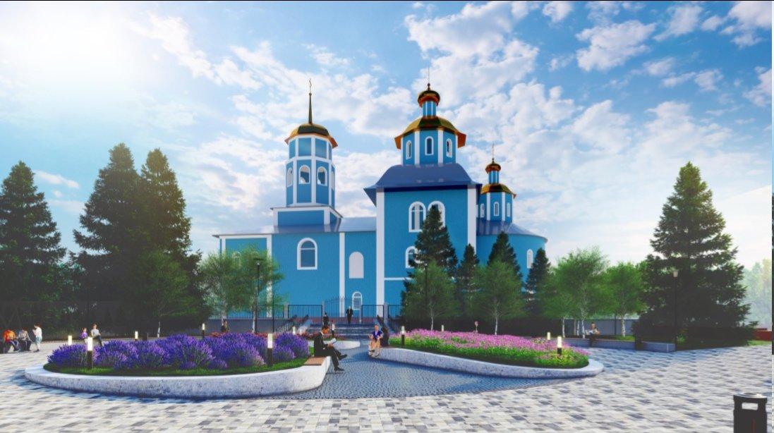 В Белгороде реконструируют сквер возле Смоленского собора , фото-1