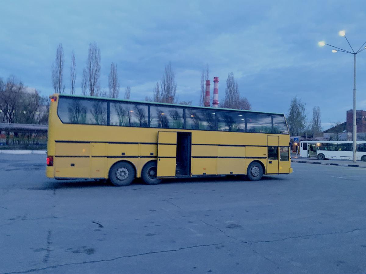 Лебединский ГОК для соблюдения социальной дистанции запустил дополнительные служебные автобусы, фото-1
