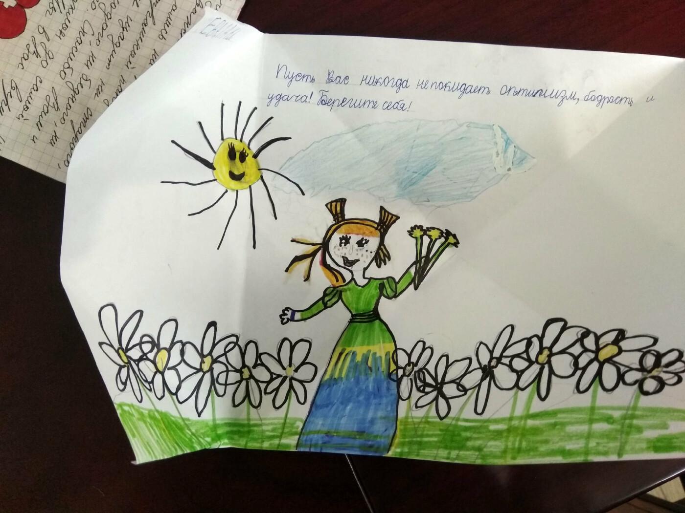 В Белгороде дети написали трогательные письма врачам , фото-2