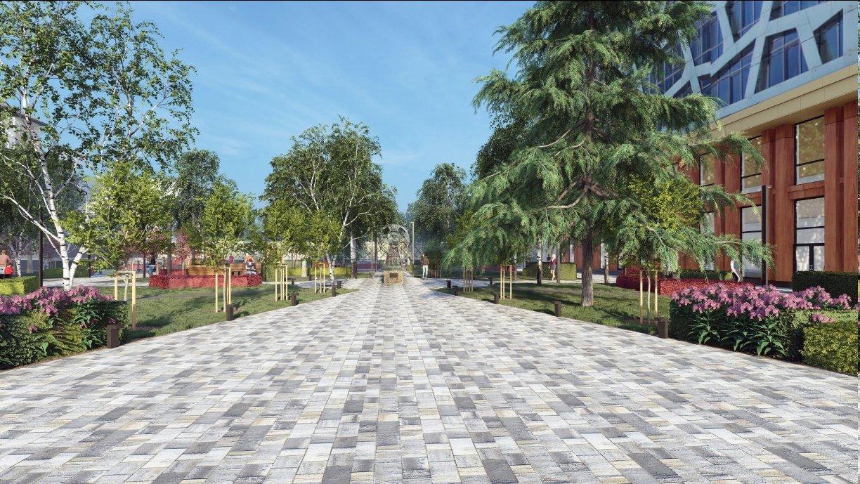 В Белгороде обновят сквер Кирилла и Мефодия, фото-2