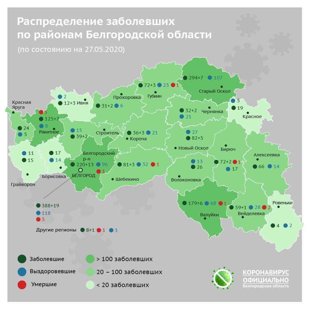 В Белгородской области к ИВЛ подключили ещё двух больных коронавирусом, фото-1