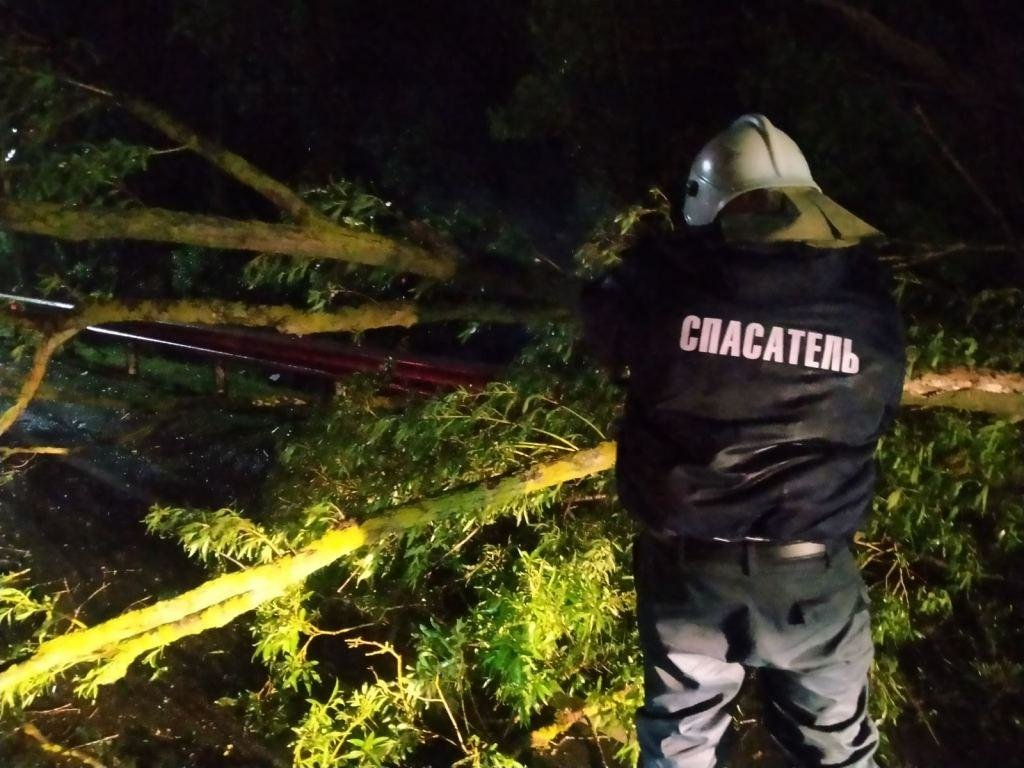 Белгородские спасатели устраняют последствия непогоды, фото-2