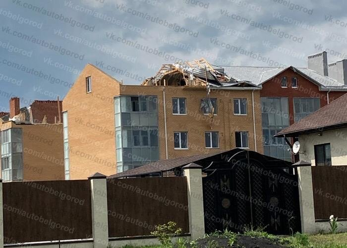 Смерч принёс в Северный многочисленные разрушения, фото-1