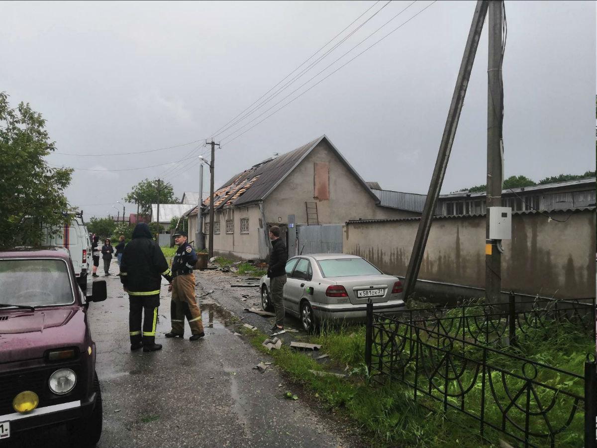 Смерч захватил и часть Белгорода, фото-1