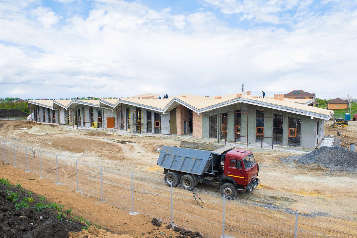 Строящийся детский сад в микрорайоне Парус подключён к электросетям, фото-2