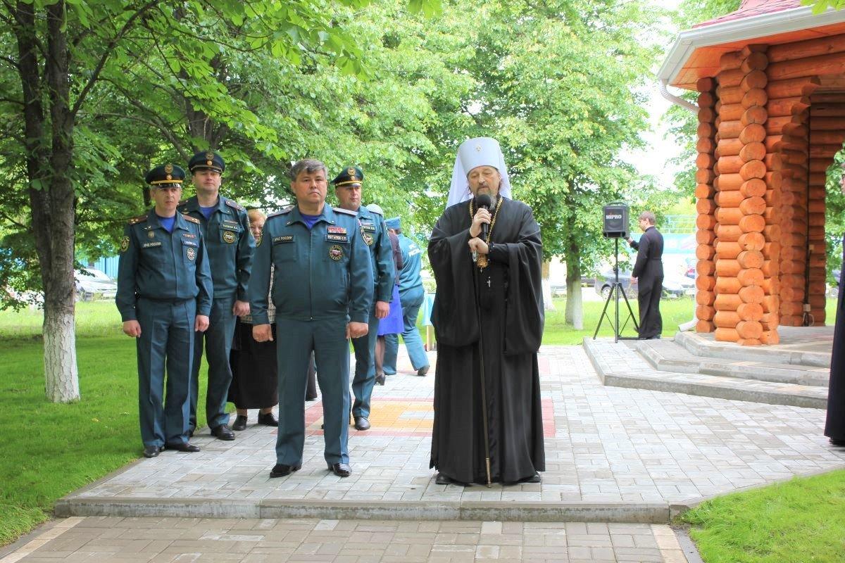 У белгородских пожарных появилась ещё одна часовня, фото-2