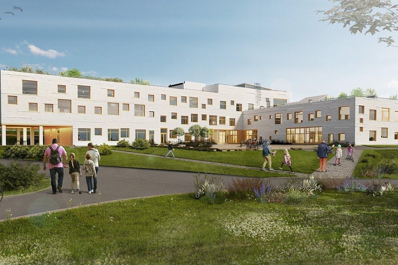 Под Белгородом строится скандинавская школа, фото-1
