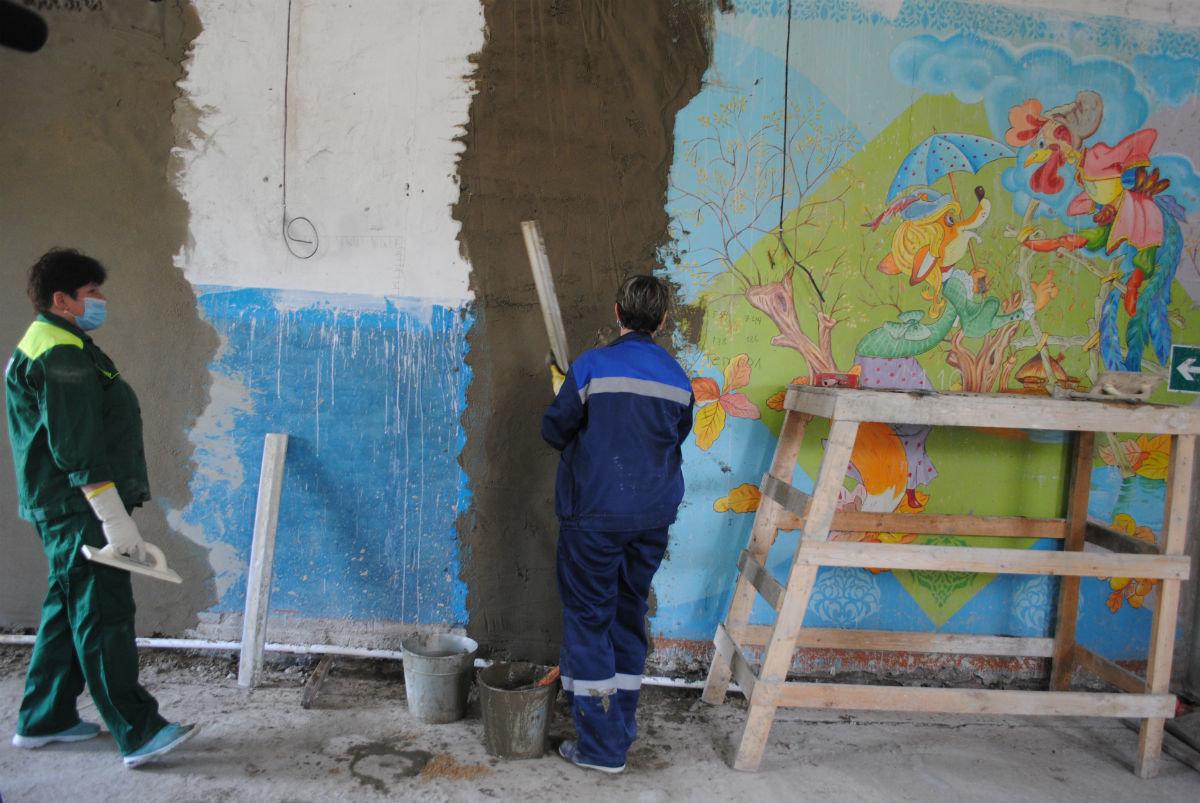 На средства депутата Андрея Скоча идёт капремонт пяти соцобъектов Волоконовского района, фото-3