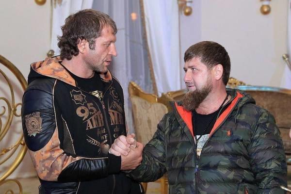 Александр Емельяненко и Рамзан Кадыров - Lenta.ru