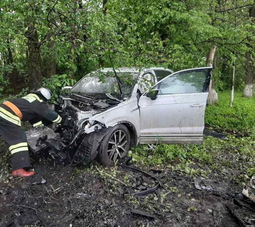 На белгородской трассе разбился водитель ВАЗа, фото-2