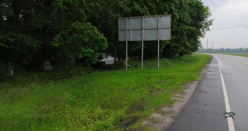 На белгородской трассе разбился водитель ВАЗа, фото-3