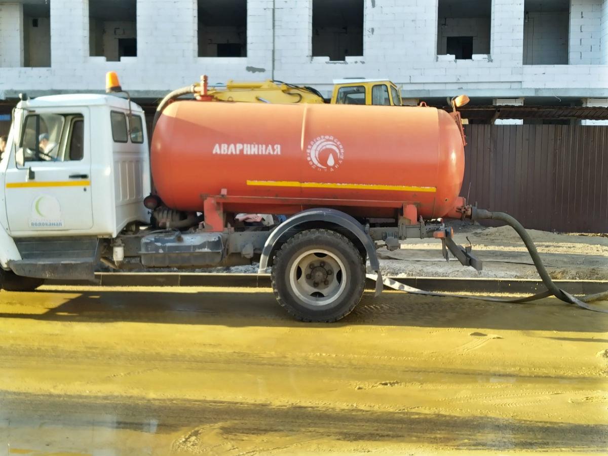 В центре Белгорода повреждён трубопровод холодной воды, фото-3
